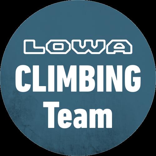 Logo LOWA CLIMBING Team